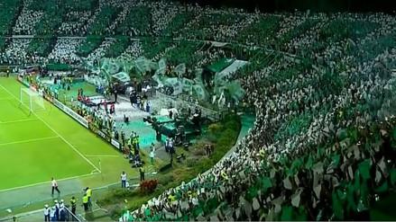 Atlético Nacional: espectacular recibimiento en final de Libertadores