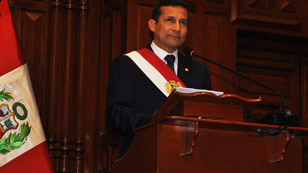 YouTube: así fue la juramentación de Ollanta Humala en 2011