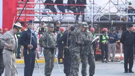 Así fue el último ensayo de los agrupamientos previo a la Parada Militar