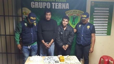 Ica: detienen a 4 personas con 186 bolsitas de cocaína
