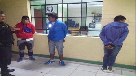 Huaura: capturan a tres sujetos que iban a asaltar con armas bus interprovincial