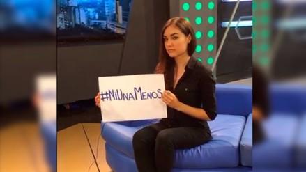 Video: Sasha Grey respaldó movimiento #NiUnaMenos