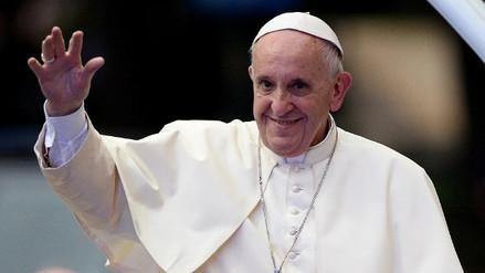 El papa Francisco a su llegada a Polonia: