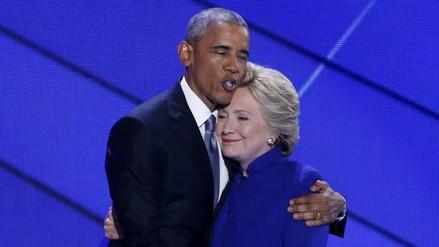 "Obama arropa a Clinton como ""la candidata de la esperanza"""