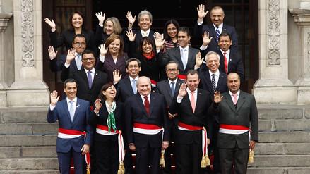 Fotos: Ollanta Humala y sus ministros se despiden del Gobierno