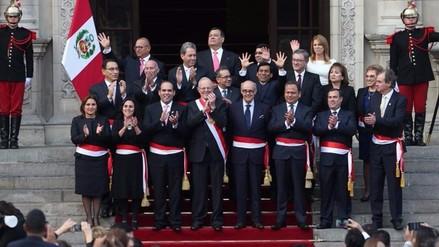 PPK toma juramentación a su primer gabinete ministerial