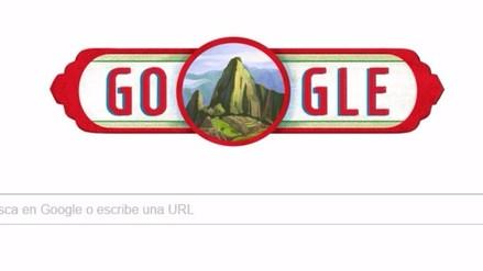 Google dedica 'doodle' al Perú por Fiestas Patrias