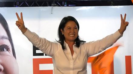 Facebook: Keiko Fujimori dice que FP convertirá en leyes propuestas de campaña