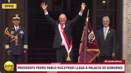Pedro Pablo Kuczynski asumió la Presidencia de la República