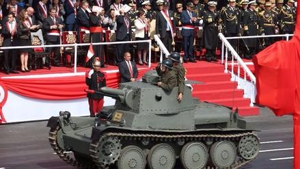 Conoce un poco más del tanque de la guerra con Ecuador de 1941 en la Parada Militar