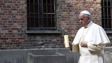 El Papa Francisco dejó este mensaje en su visita a Auschwitz