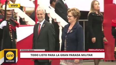 Nancy Lange no se sentará al lado de PPK en la Parada Militar