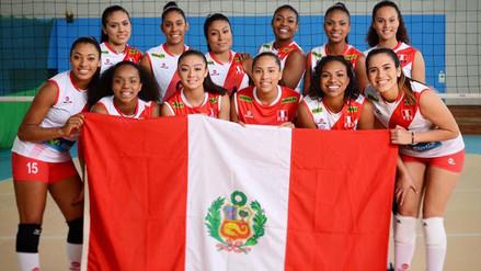 Selección Peruana de Vóley cayó 3-1 con Colombia en Sudamericano Sub 23