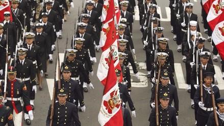 Así será la secuencia de las delegaciones de la Gran Parada Militar