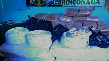 Incautan más de 500 cartuchos de dinamita en La Rinconada