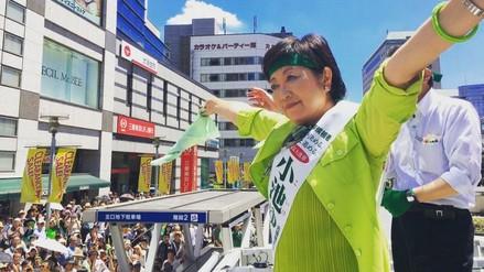 Yuriko Koike, favorita para ser la primera gobernadora de Tokio