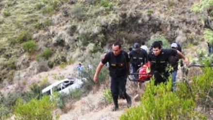 Despiste y vuelco deja siete personas fallecidas en VRAEM