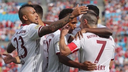 Bayern Munich goleó 4-1 al Inter de Milán por la International Champions Cup