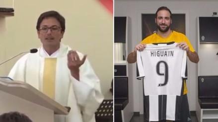 Gonzalo Higuaín: sacerdote lo defendió en plena misa por su pase a Juventus