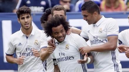 Video: Real Madrid ganó 3-2 al Chelsea de la mano de Marcelo