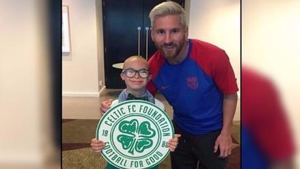 Barcelona: Messi y los jugadores sorprendieron a niño con Síndrome de Down