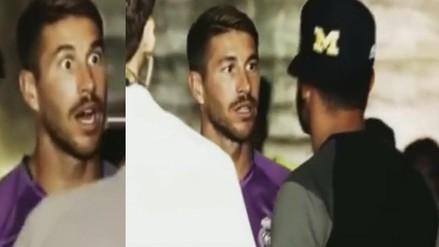 Video: la reacción de Sergio Ramos tras conocer el futuro de Diego Costa