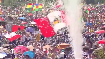Francisco clausuró la Jornada Mundial de la Juventud con multitudinaria misa