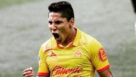 Raúl Ruidíaz marcó un 'hat-trick' en el 4-2 de Monarcas sobre Santos Laguna