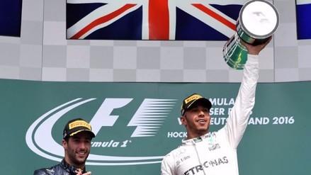 Fórmula 1: Lewis Hamilton ganó en Hockenheim el GP de Alemania