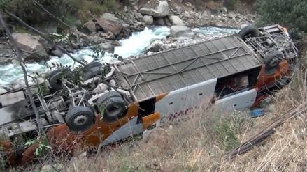 Despiste de bus dejó 37 heridos en la provincia de Ambo