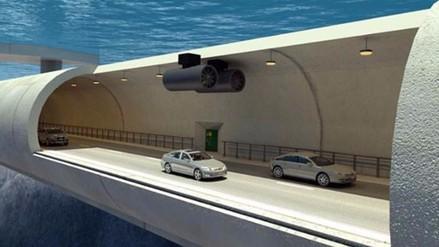 Así será el primer túnel submarino flotante del mundo