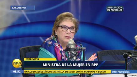Ministra de la Mujer a Cipriani: