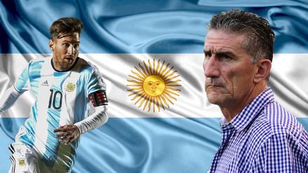 Edgardo Bauza fue anunciado como nuevo entrenador de Argentina