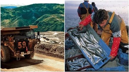 Minería e hidrocarburos creció 15.82% y Pesca bajó 0.44% en junio