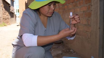 Junín: vacunan contra influenza a poblaciones vulnerables
