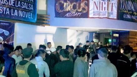 Clausuran discoteca que vendía licor a menores de edad en VES