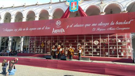 Buscan revalorar música arequipeña con concurso en plaza de Armas