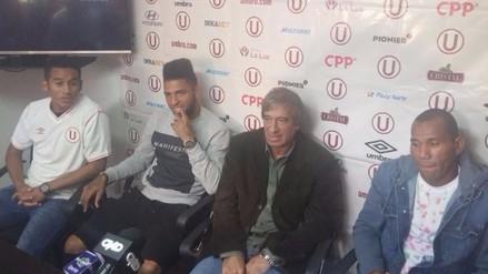 Universitario de Deportes presentó refuerzos para la Copa Sudamericana
