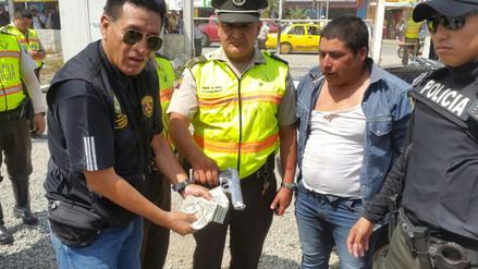 Policías del Perú y el Ecuador capturan a sujeto que asaltó a cambista