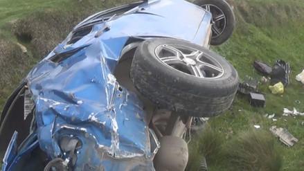 Dos muertos y cinco heridos dejó accidente de tránsito en Huanta