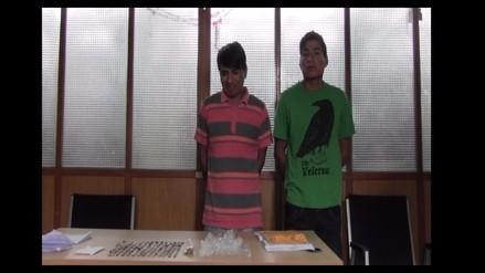 Casa Grande: caen dos sujetos que vendían droga a menores de edad