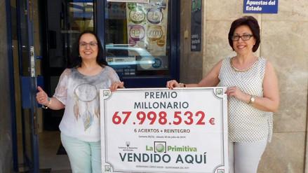España: mujer inmigrante ganó $75 millones en la lotería