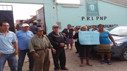 Vecinos de Urrunaga piden más policías para puesto de auxilio