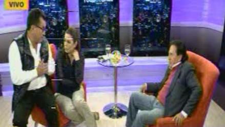 Mira el divertido encuentro entre Alejandro Toledo y su 'clon' en RPP