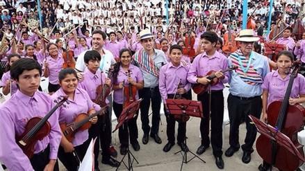 Coro infantil de Sinfonía por el Perú cantará a los trujillanos