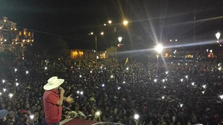 Gregorio Santos ratificó su oposición a la minería