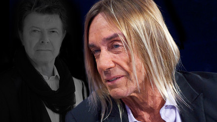 Iggy Pop rinde emotivo tributo a David Bowie