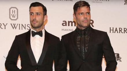 Ricky Martin: vacaciones con su novio se ponen cada vez más salvajes
