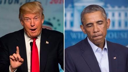 Trump: Por culpa de Barack Obama, Irán y otros países