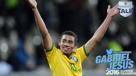 Manchester City: Gabriel Jesús fue fichado previo a Río 2016